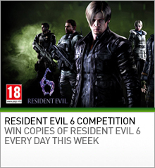 Resident Evil 6 PC Game Competition