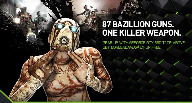 87 GAZILLION GUNS. ONE KILLER WEAPON.