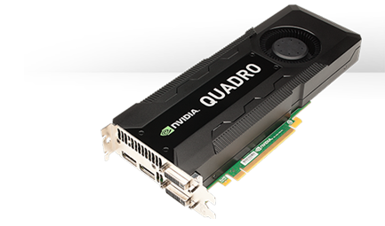 Quadro GPUs for desktop workstations