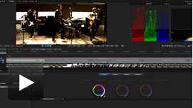 SpeedGrade brings a new level of professional color grading to the Heavy Hand music video with real-time Quadro-accelerated processing