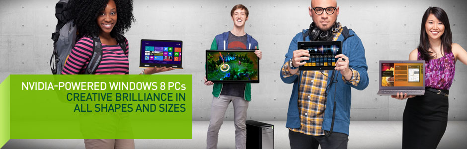 Windows 8 PCs – Powered By Tegra And GeForce