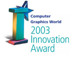 CGW 2003 Innovation Award