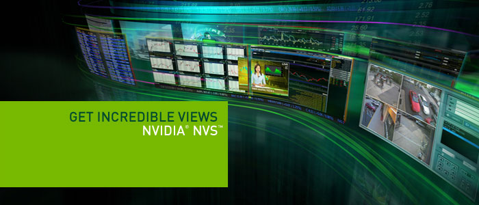 NVIDIA NVS for Desktops