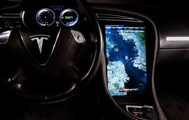 Tesla Motors Model S To Feature NVIDIA Tegra ProcessorsNVIDIA UK - Auto display