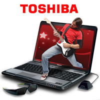 3D Laptops: TOSHIBA SATELLITE A665-3D