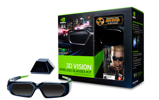 Stereoscopic 3d Gaming Computer: Glasses Kit