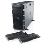 Dell PowerEdgeTM T620 Server with NVIDIA Tesla™ GPUs