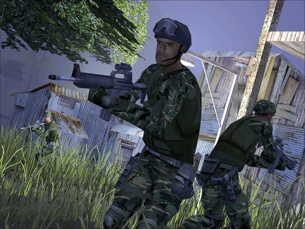Game: Delta Force NVIDIA UK