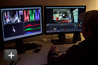 Swordfish Executive Creative Director Matt Silverman color grading Sony RAW MXF 4k footage in DaVinci Resolve