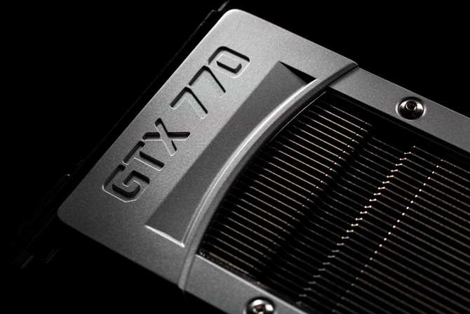 GTX 770 graphics card model designation