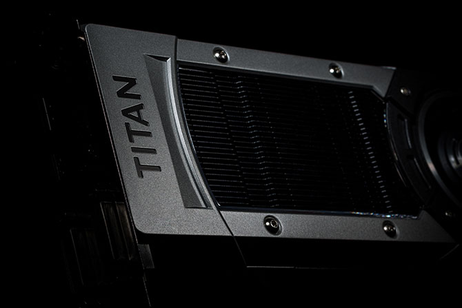 The GeForce GTX TITAN Black graphics card runs whisper-quiet.